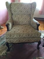 Antique couches and armchairs