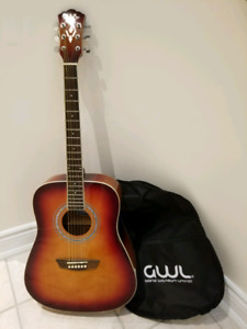 George Washburn accoustic guitar for $75