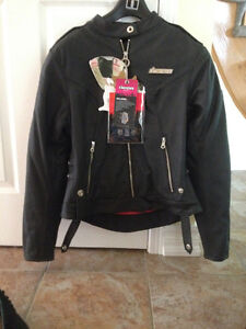 Woman's Icon Motorcycle Jacket 'NEVER WORN'