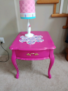 Hot Pink side table