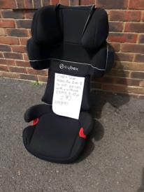 Cybex Pallas 2-fix Category 1,2,3 9kg-36kg car seat