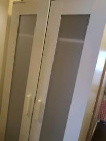 IKEA Aneboda white wardrobe