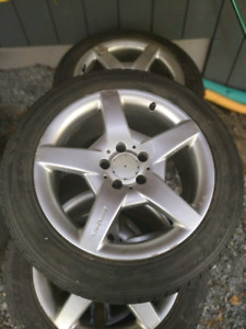 Amg Rims and tires... 5 x 112 400$