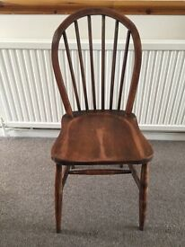 1 VINTAGE ERCOL CHAIR  Has Damage but Fixed 2 old school chairs  5 00   in Leicester  Leicestershire   Gumtree. Old Dining Chairs Leicester. Home Design Ideas