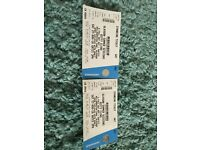 2x Biffy Clyro Summer Sessions Tickets