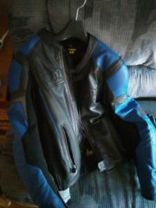 Scorpion motorcycle leather jacket