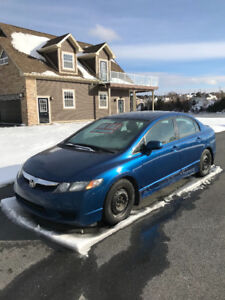 2011 Honda Civic ULS Sedan 126716km Sunroof