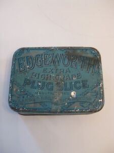 EDGEWORTH TOBACCO TIN BOX Kitchener / Waterloo Kitchener Area image 1
