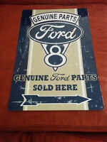 Genuine Ford Parts Sold Here Distressed Sign $30 O.B.O