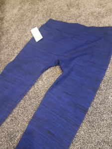 Blue leggings brand new with tags