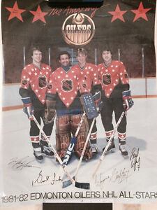 Oilers posters early 80s