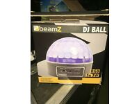 Lights suitable for disco domes. Bouncy castles also for sale