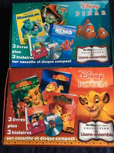jeu/jouet livres Disney lisons ensemble avec CD pour enfant
