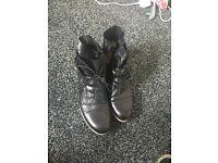 Moda in pelle boots