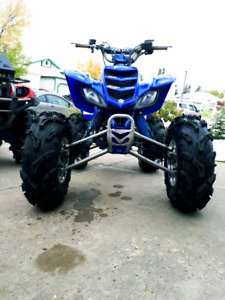 Custom built Yamaha Raptor