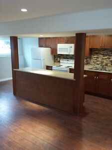 2 bedroom basement suite available July1 st