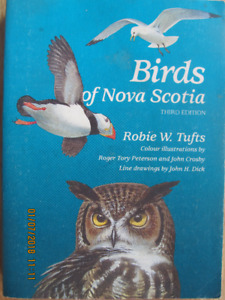 BIRDS OF NOVA SCOTIA by Robie W. Tufts – 1986, 3rd Ed.