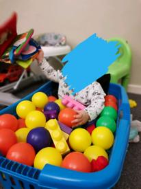 ulti-Colour Kids Baby Child Soft Play Plastic Balls