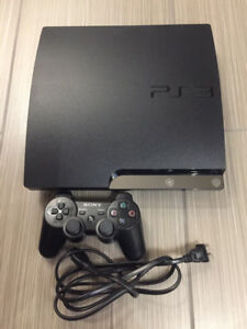 160g PS3 slim with one controller