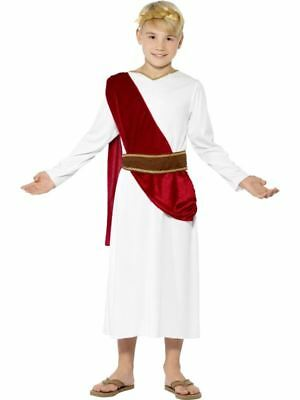 Jungen Römischen Kostüme (Kinder Jungen Römisch Kostüm Toga Party altertümlich Griechisch kinder-outfit)