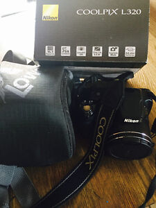 Nikon Coolpix L320 Camera. Great shape. Case included