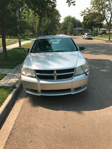 2008 Dodge Avenger Sedan, low kilometers (MUST SELL)