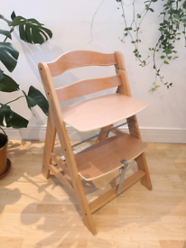 Wood Highchair