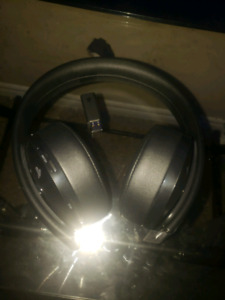 gold edition playstations headset