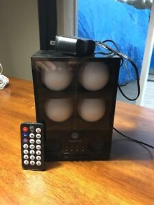 ampli rechargeable avec prise usb et fente pour carte sd