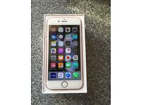 iPhone 6s 64gb rose gold factory unlocked brand new condition with Apple warranty