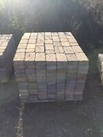 Assorted color pavers