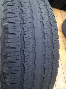Set of 4  Michelin Summer tires  225/65/17