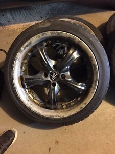 "Bad boy 17"" rims"