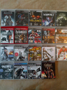 Ps3 games for trade!  Excellent condition see ad for details.