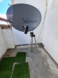 Portable sky dish