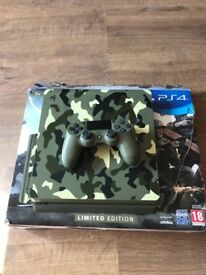 Limited edition ps4 slim 1tb console