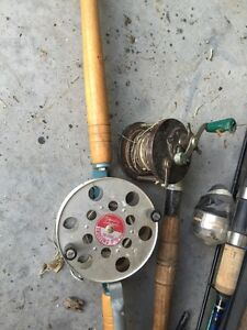 Collection of fishing reels and rods trade for air compressor Kingston Kingston Area image 3