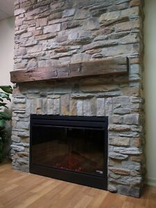 FIREPLACE MAKEOVER   by stone veneer      $ 599.. and up