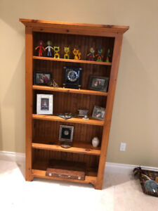Moving Sale. Lots of great pieces. Bookcases, curio, and more