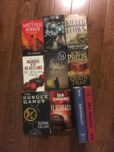 Books: Stephen King, Hunger Games, and more! All $5