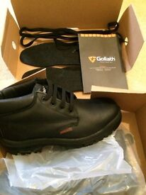 Goliath Conductive Safety Boots Size 8L