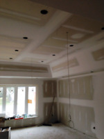 DRYWALL FINISHING/ POP CORN REMOVAL/ SMOOTH CEILING/ SANDING