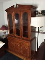 Beautiful china cabinet for sale