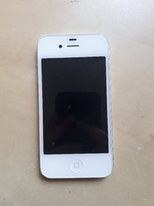 iPhone 4 8GB, working condition, locked to Virgin Mobile