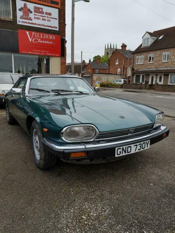 JAGUAR XJS V12 HE 1982 Auto Petrol Petrol Automatic in Green   in Gainsborough, Lincolnshire ...