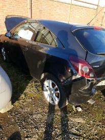 Breaking spares parts Vauxhall corsa D 3 door door alloy mirror mats