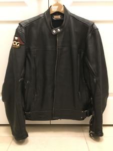 Power Trip Leather Jacket - Medium