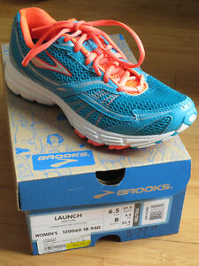 "NEW!  ""Brooks Launch"" Shoes - 7.5 Girls/6.5 Womens"