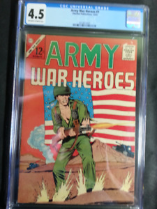 Army War Heroes #1, Charlton Publications,12/63