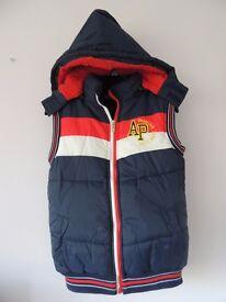 Body Warmer (boys) warmer water proof, jacket without sleeves, half sleeves jacket